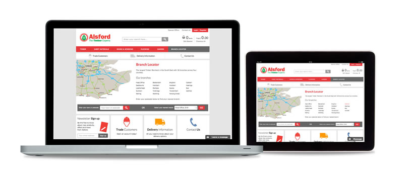 alsford-timber_ecommerce-website-laptop-and-tablet-branches