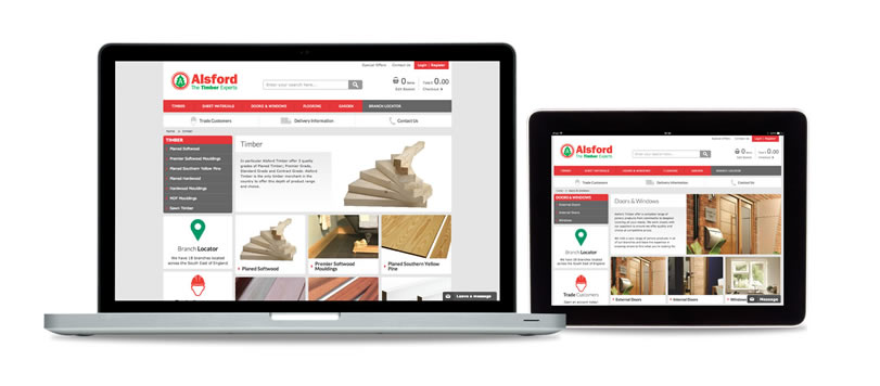 alsford-timber_ecommerce-website-laptop-and-tablet